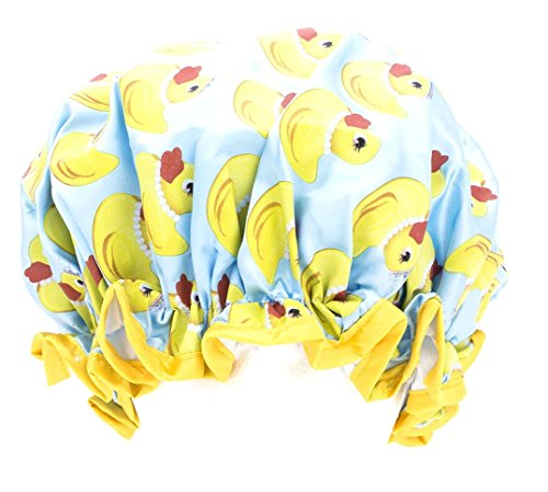 Studio Dry by Upper Canada Waterproof Shower Cap, Couture Duck (Canada Upper Duck)