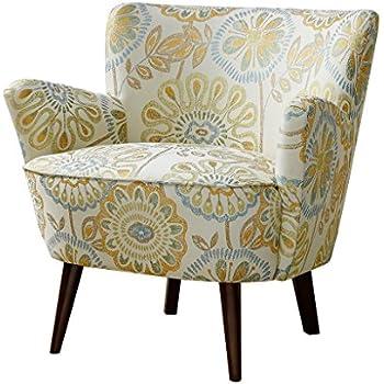 Amazon Com Mid Century Accent Chair Sophie Multi Home