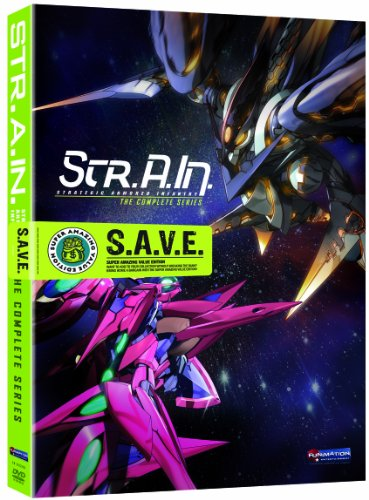 - Str.A.In.: Strategic Armored Infantry - Complete Series Box Set