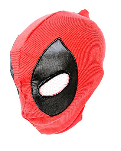 happyfun Cosplay Mask Halloween Party Headwear,Funny Movie Comics Costume Accessory Spandex Lycra Adult for DP Deadpool Mask for $<!--$9.99-->