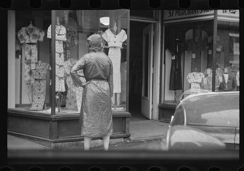 Photo: Window shopping,Manchester,New Hampshire,NH,Hillsborough - Manchester Shopping Nh