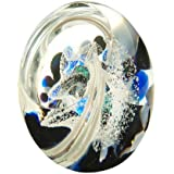 Caithness Glass Piece Crystal Wishing on A Star Wonderful World Paperweight, Multi-Coloured