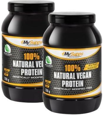 My Supps GmbH & Co. KG Proteína mysupps Natural Vegano Doble ...