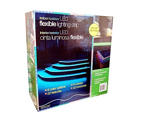 Indoor/Outdoor LED 8 Color Flexible Lighting Strip by Costco Wholesale Group