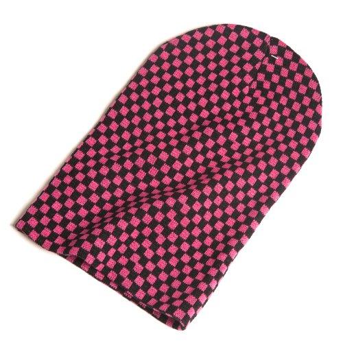 Mou Un Rose Accessoryo Bonnet Chapeau Dans Choix Couleurs Damier De Surdimensionné wYwHqEv