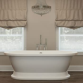 Luxury 60 inch Freestanding Tub with Vintage Tub Design in