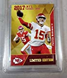 2017 PATRICK MAHOMES ROOKIE NFL GOLD ROOKIE GEMS RC