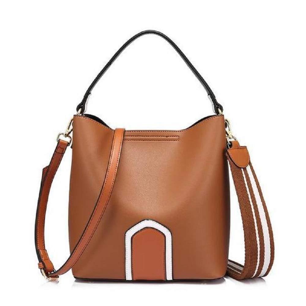 Brown BagPrime Bucket Style Tote Bag Crossbody Shoulder Handbag For Women