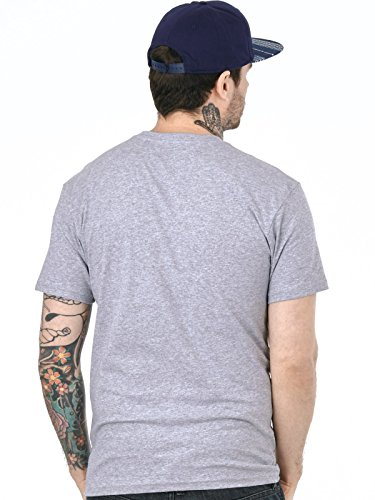 Vans T-Shirt Classic Logo Fill Athletic Heather-Vans (X-Large , Grau)