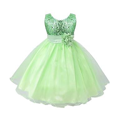 692ea5528e33b Brightup Robe pour bébé 0-24 Mois - Vert - 32  Amazon.fr  Vêtements ...