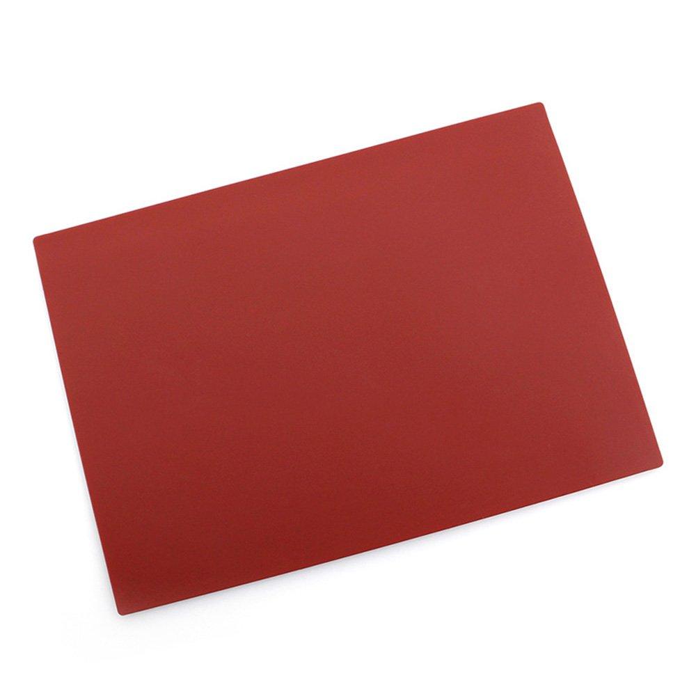 20.8*14.9*0.1cm Silikon 1# Silikon Lebensmittel Mat Tisch-Sets backen Rolling Pad quadratisch zuf/ällige hitzebest/ändig