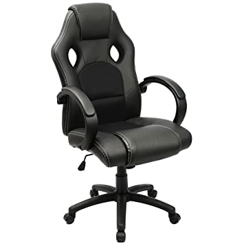 Amazoncom Furmax Office Chair High back PU Leather Computer