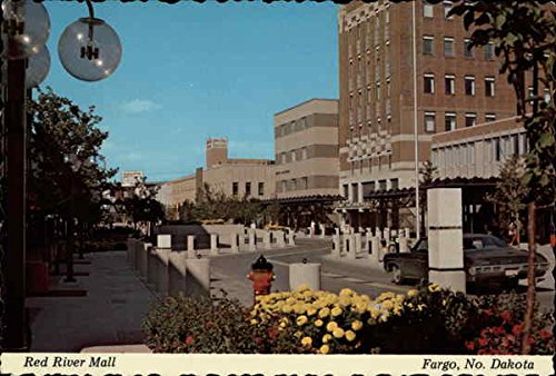 Red River Mall Fargo, North Dakota Original Vintage - River The Mall