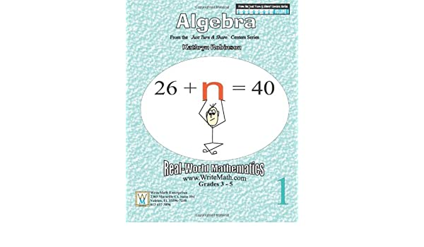 Algebra Worksheets - 3rd, 4th, 5th Grade Math (Just Turn and Share ...