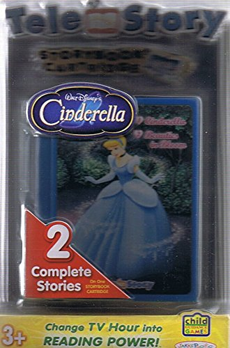 (Tele-Story Storybook Cartridge: 2 complete Stories on One Storybook Cartridge: Cinderella / Beauties in Bloom (For Use with Tele-Story Interactive Storybook System))