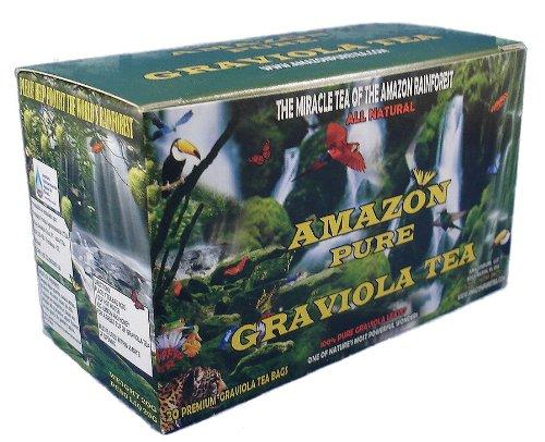 Graviola naturelles Herbal Tea Bags - 20 CT