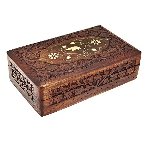 Decorative Jewelry Boxes Ideas : Handmade mothers day gift ideas decorative wooden jewelry