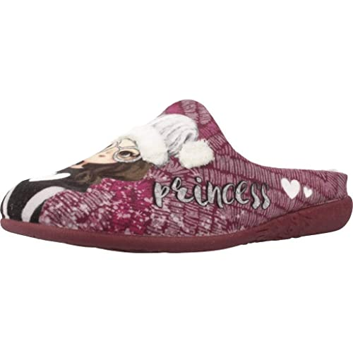 Zapatillas niñas de Estar por casa, Color Rojo, Marca VULLADI, Modelo Zapatillas Niñas De Estar por Casa VULLADI 2222 140 Rojo: Amazon.es: Zapatos y ...