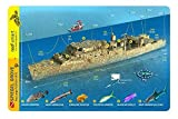Spiegel Grove Wreck Key Largo Florida Waterproof Dive Card