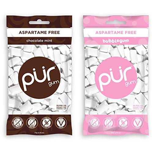 pur-gum-aspartame-free-bubblegum-and-chocolate-mint-272-ounces-each