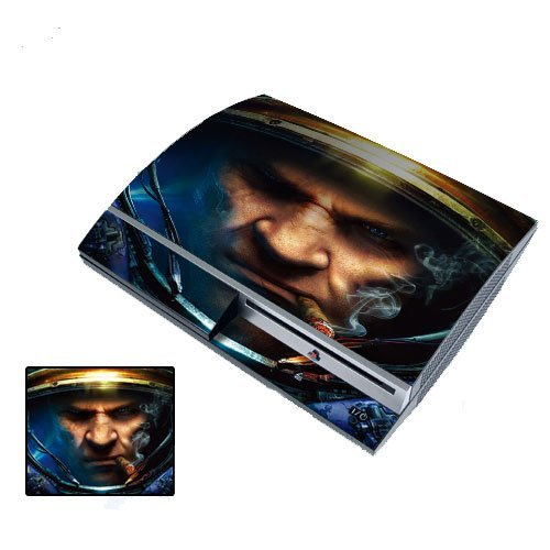 PS3 Playstation 3 Body Protector Skin Decal Sticker, Item No.PS30853-44