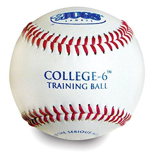 Jugs College-6 Practice Baseballs-Mesh 6 Pack