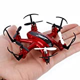 Everyone Love Hexacopter,JJRC H20 Mini RC Quadcopter 2.4G 4Ch 6-Axis Gyro Nano Hexacopter Drone CF RTF (Red)