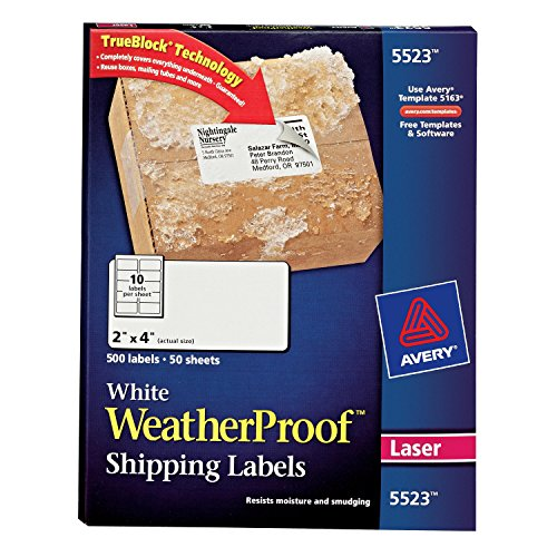 Avery WeatherProof TrueBlock Technology Printers product image