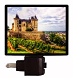 French Castle Night Light - Chateau De Saumur - France LED NIGHT LIGHT