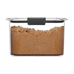 Rubbermaid Brilliance Pantry Airtight Food Storage Container Brown Sugar (7.8 Cup) Open Stock Brown Sugar (7.8 Cup)