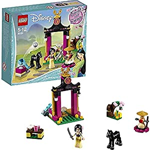WXX Lego 104 Mulan Martial Arts Training Day Assembled Building Block Set Children's Educational Toys Birthday