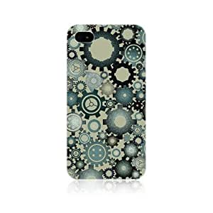 MC-Brown Gears Profession Inspired Protective Back Case Cover for Apple iPhone 4 4S