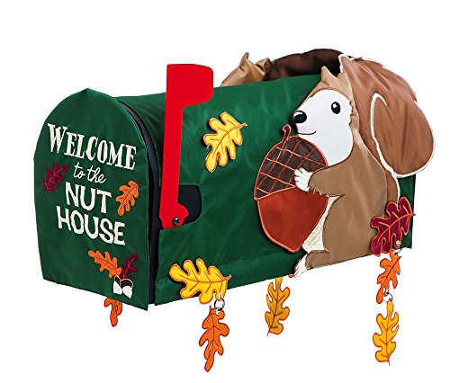 Evergreen Enterprises 56576 Squirrel Mailbox Cover, Multicol