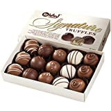 No Whey Foods - Chocolate Truffle Collection (15 Pieces) - Vegan, Plant Based, Gluten Free, Dairy Free, Nut Free, Peanut Free