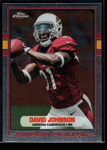 - BIGBOYD SPORTS CARDS David Johnson Super Rookie 1989 Variation RC SP 2015 Topps Chrome GEM G1