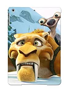 Podiumjiwrp Tpu Case For Ipad Air With Sid And Diego - Ice Age 4 - Continental Drift , Nice Case For Thanksgiving Day's Gift