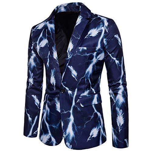 Plume Blazer Vestons Boucle Pour Homme Vêtements Les Costume Pour Hommes Blue wB8SqwC