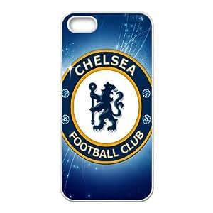 R4F87 Chelsea FC U2X8CW iPhone funda 5 5s funda caja del teléfono celular de cubierta AE3ZVN5JL blanco