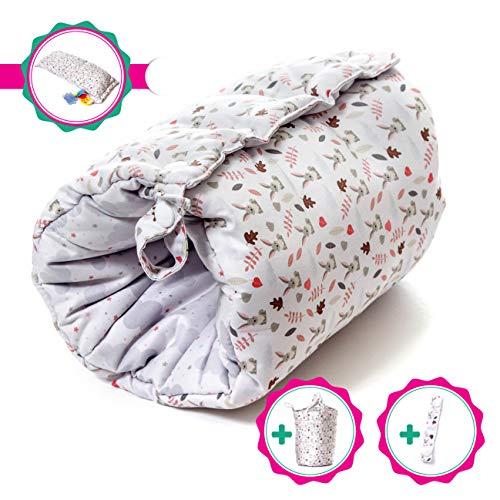 Travel Friendly Nursing Pillow, Slip On Arm Breastfeeding Pillow for Newborns & Older Babies | Soft, Safe & Comfortable | Reversible, Multi Use Nursing Cushion | Bonus Carry Bag & Nursing Strap