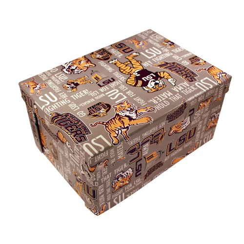 - NCAA Louisiana State Tigers Tigers Collapsible Boxxer Storage Boxes 4-Pack