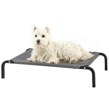 Cama para perro elevada de Bunty, portátil impermeable para el aire libre,