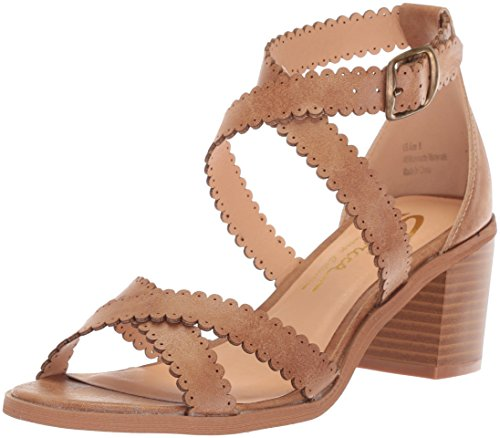 Sbicca Women's Tassie Heeled Sandal, Tan, 8 M US