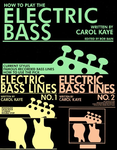(How to Play The Electric Bass (includes Electric Bass Lines 1 & 2))