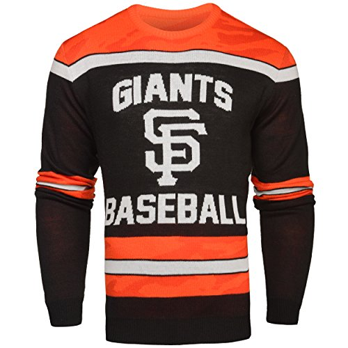 Francisco Bean San Bag Giants (FOCO San Francisco Giants Ugly Glow In The Dark Sweater - Mens - Mens Medium)