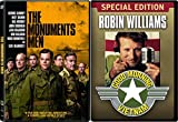 Vietnam & WW2 Modern Classic - The Monuments Men & Good Morning Vietnam (Special Edition) 2-DVD Bundle