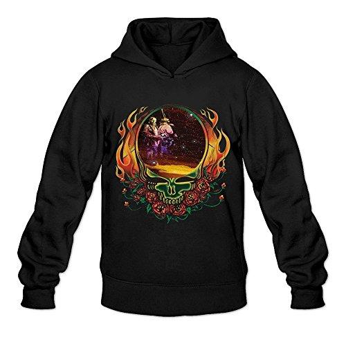 Men's Grateful Dead Band Native American Poster Sweater Size M Black (Samsung Smart Fridge compare prices)