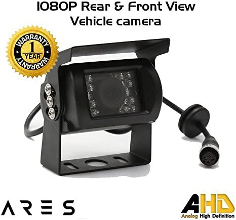 Ares Vision Vehicle 1080P//720P//700 TVL Aviation 4 PIN HD Rear//Front//Side//Waterproof Cameras 700 TVL, Black Side