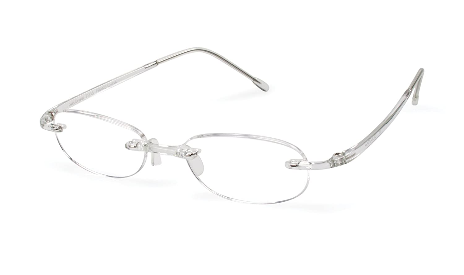 Amazon.com: Gels - Lightweight Rimless Fashion Readers - The ...