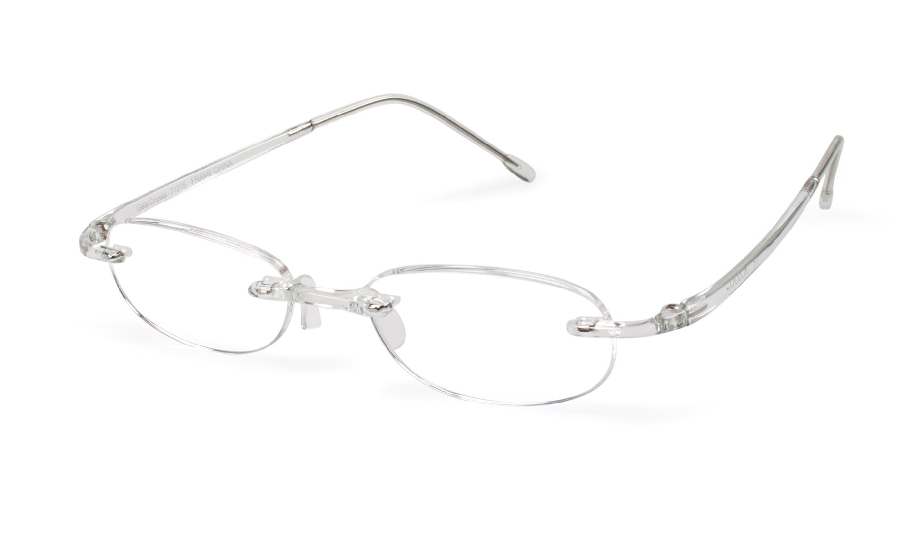 f43b6a76234 Gels - Lightweight Rimless Fashion Readers - The Original Reading Glasses  for Men and Women -