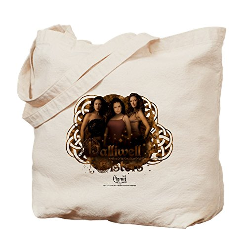 Canvas Tote Shopping Bag Cloth Bag Charmed Halliwell Natural CafePress Sisters FXI1qO7